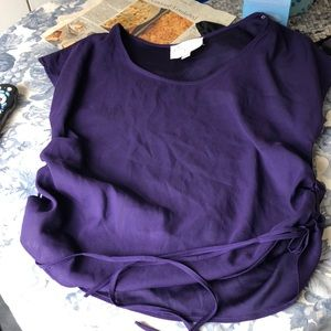 Rory Beca purple blouse